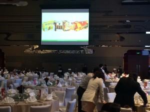 2015-05-19-Cena de gala. Mas de 500 personas, entre empleados y subdistribuidores, Estuvieron presentes en el lanzamiento de los nuevos productos para este año, entre ellos, Asinez.