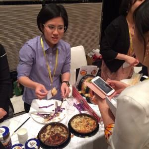 2015-05-19-Degustacion y predentacion de productos de Horno de San Juan (3) ante importadores. FOUR seasons Hotel, Shanghai, 5 de Mayo