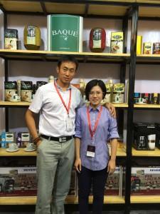 Baque in Beijing coffee exhibition (5)