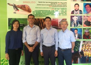 Joselito enamora gran grupo empresarial sur de china-exportar a China jamon
