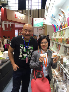 Magdalenas Lazaro presenta exporta en feria alimentacion Nanjing China 1