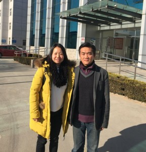 Lucy visita importador reposteria China