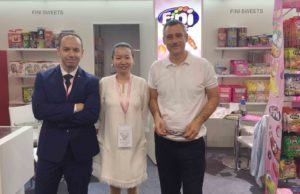 Lucy at FINI booth SIAL CHINA 2016