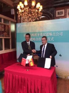Arruabarrena Importador ceremonia de firma June venta galletas China (1)