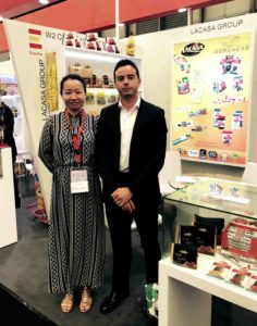 Exportar chocolates Lacasa en SIAL China